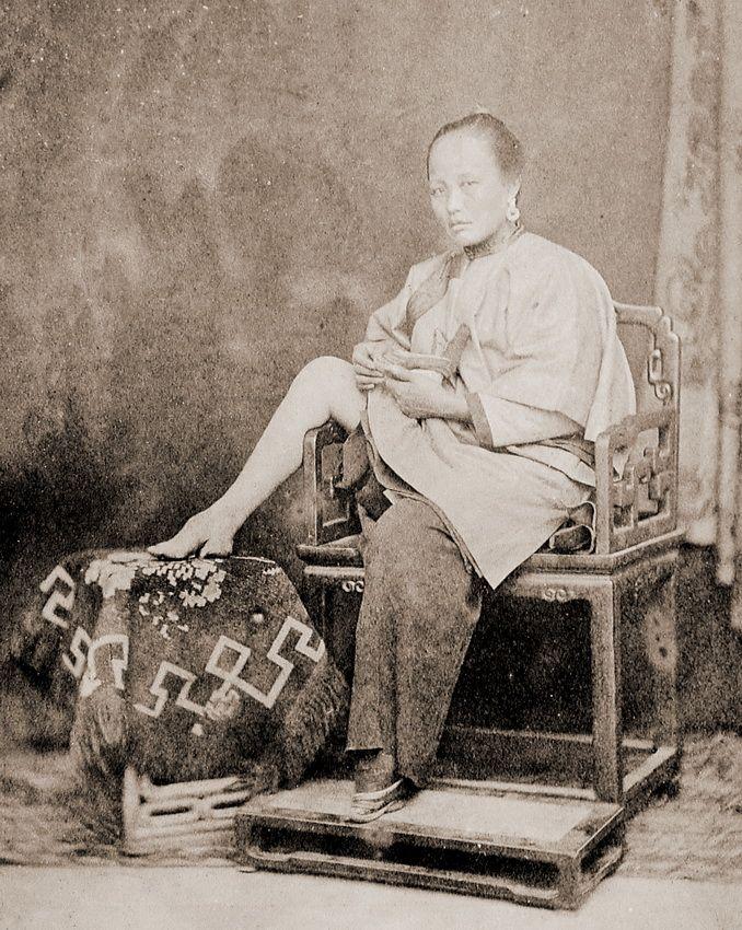 деформация человеческого тела, бинтование ступней в Китае